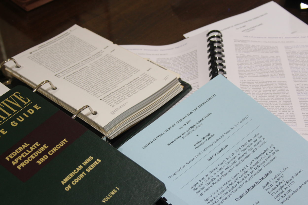 State & Federal Appellate Practice